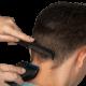 hair dresser combing hair