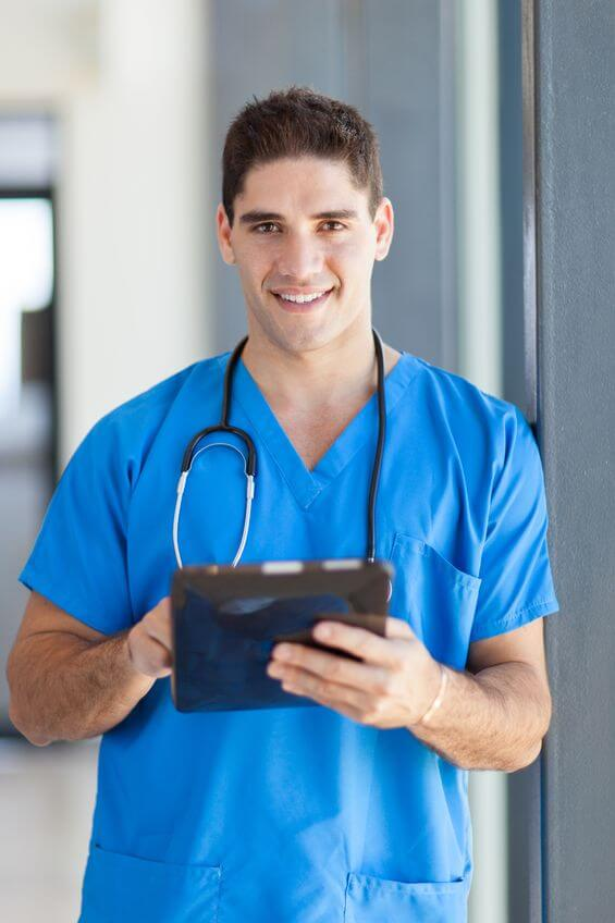 nursing-school- male student Miami FL