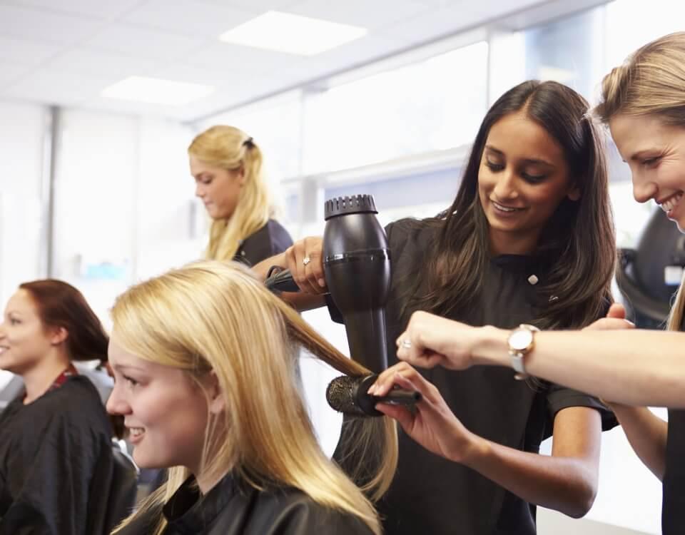 hair dressing class